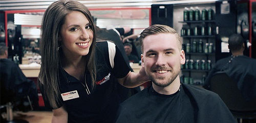 Sport Clips Haircuts of DC - Columbia Heights​ stylist hair cut